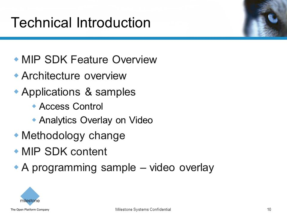 Technical Introduction