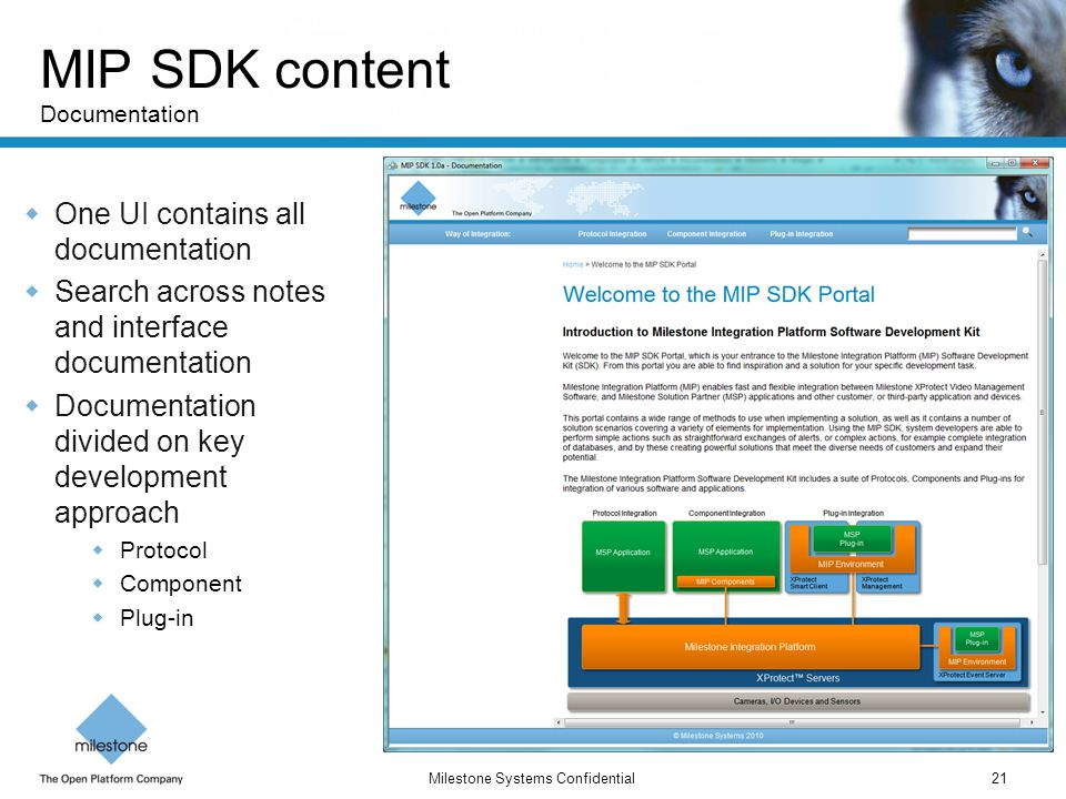 MIP SDK content Documentation
