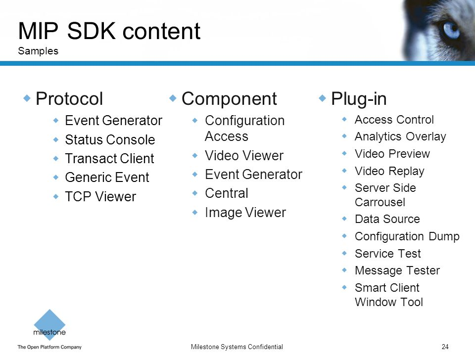 MIP SDK content Samples