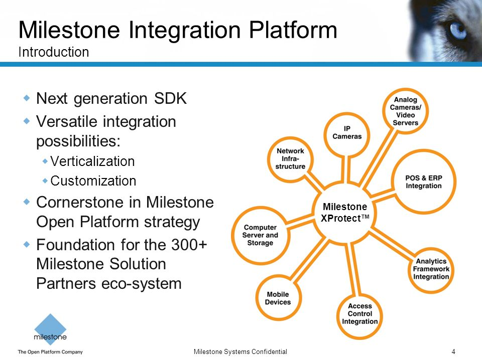 Milestone Integration Platform Introduction