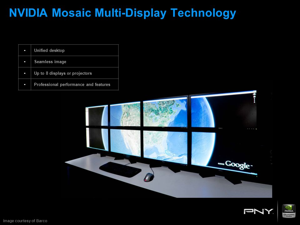 NVIDIA Mosaic Multi-Display Technology