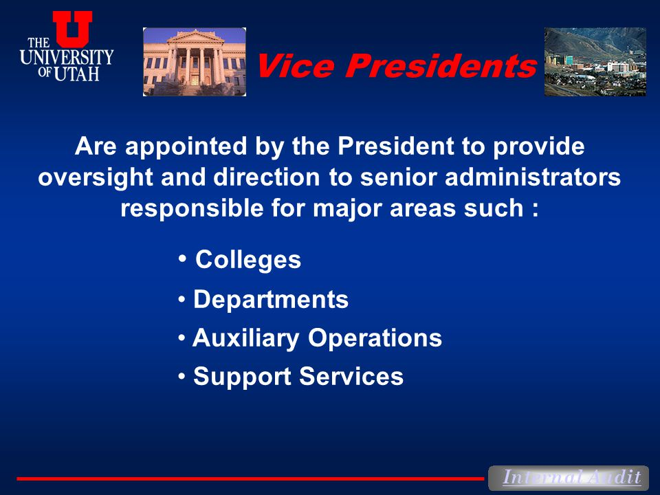 Vice Presidents Colleges