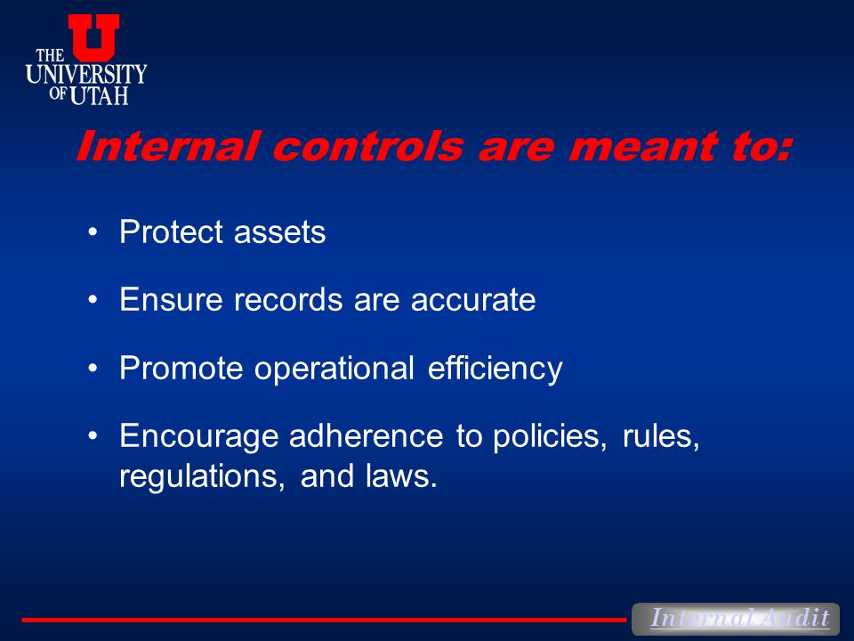 Internal controls are meant to: