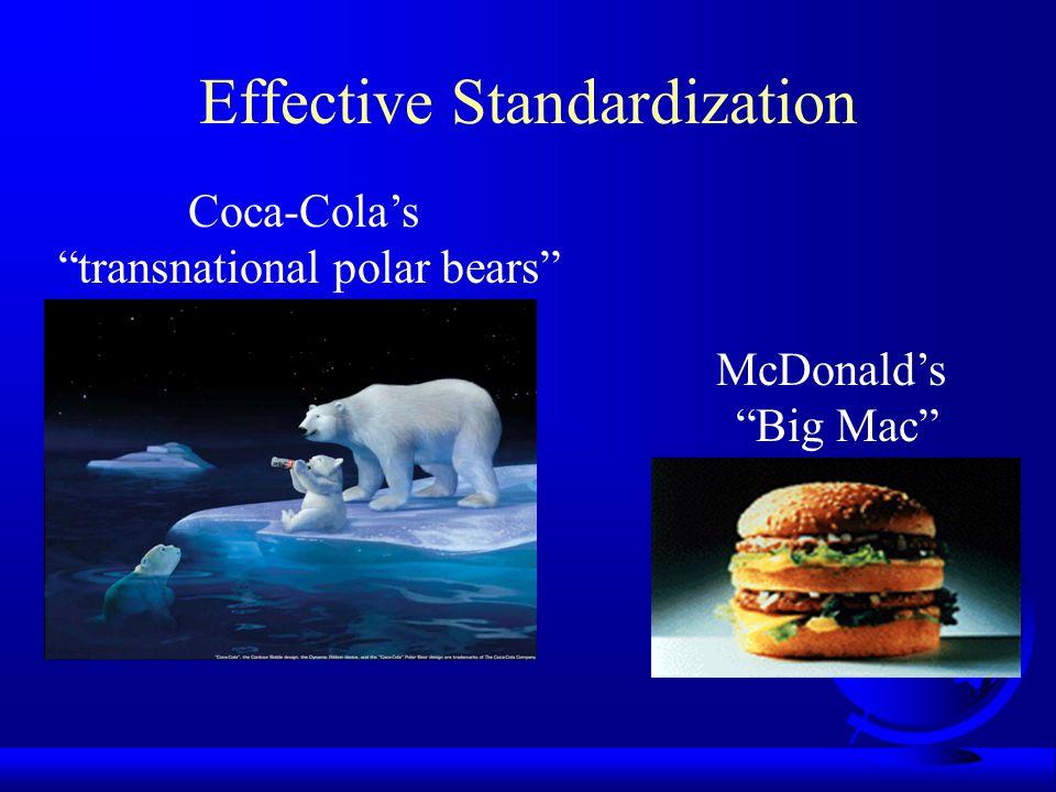 Effective Standardization