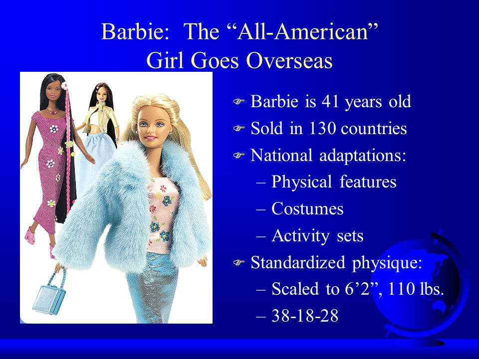 Barbie: The All-American Girl Goes Overseas