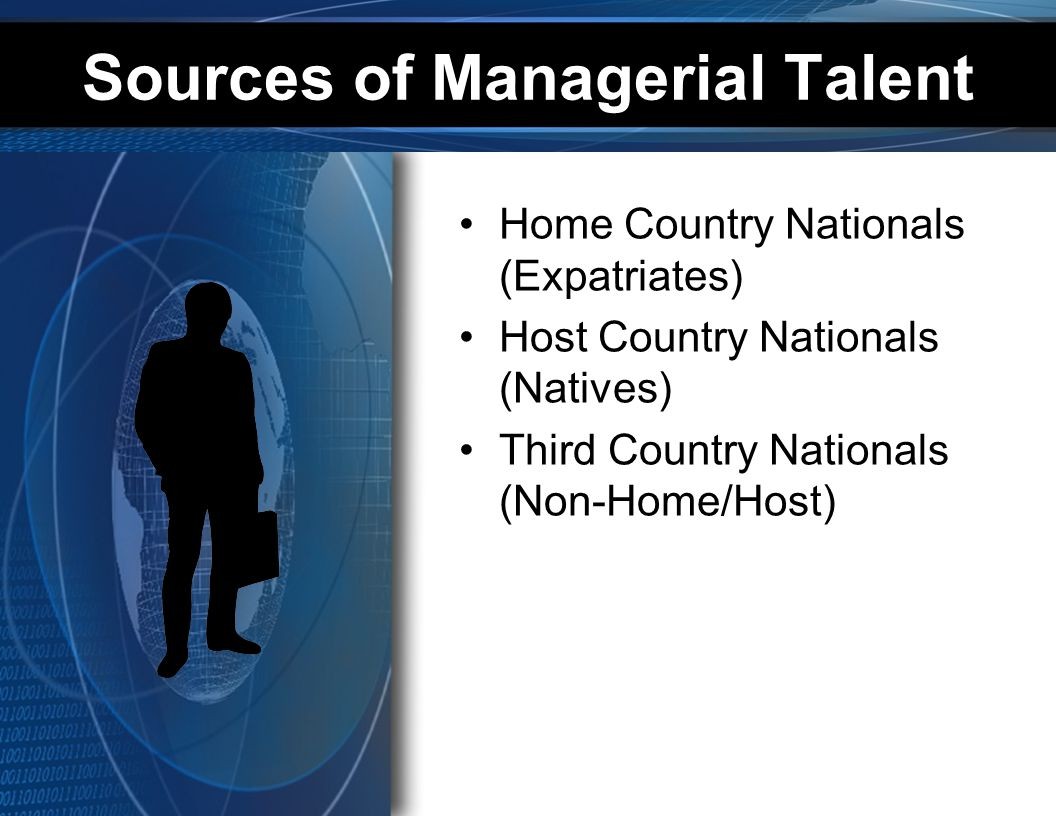 Sources of Managerial Talent