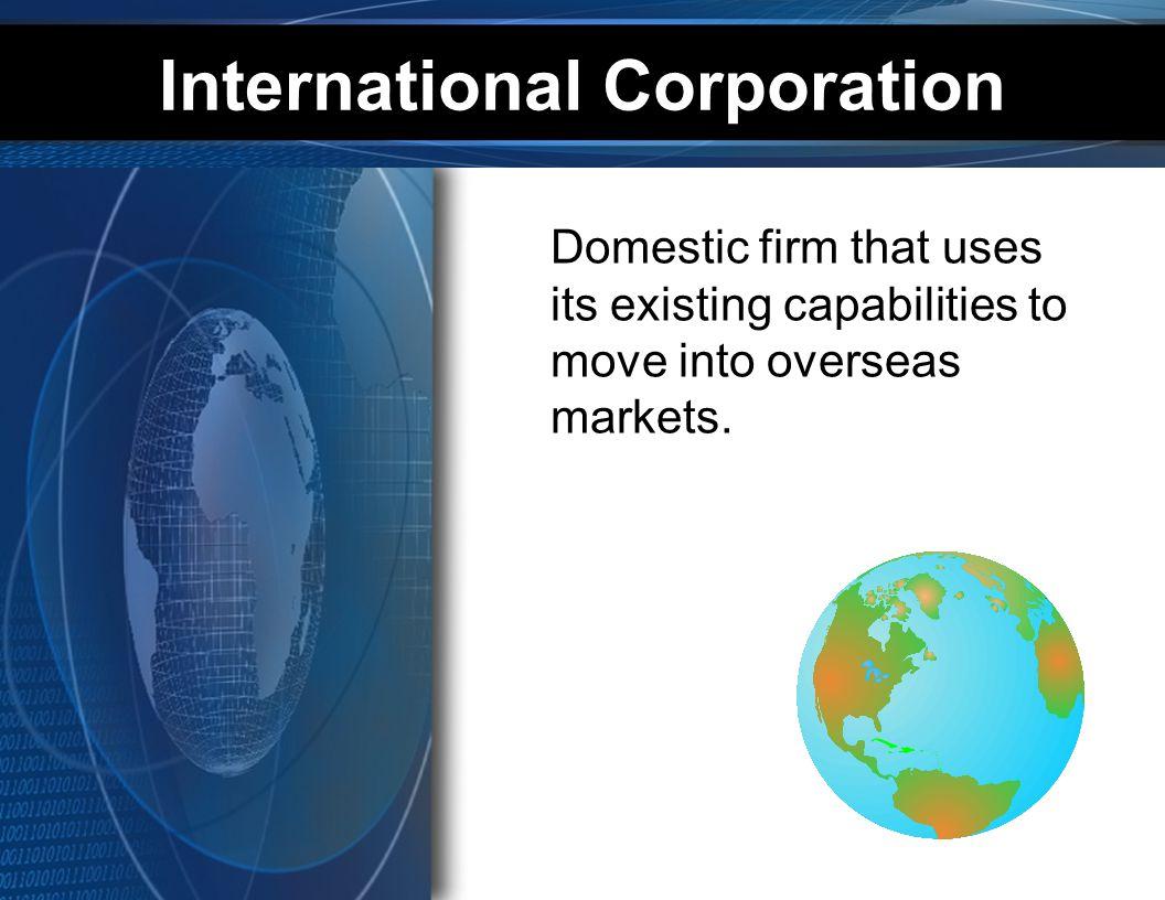 International Corporation