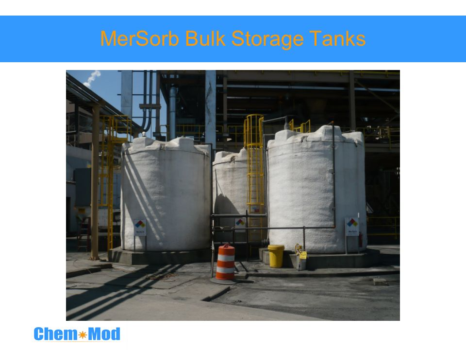 MerSorb Bulk Storage Tanks
