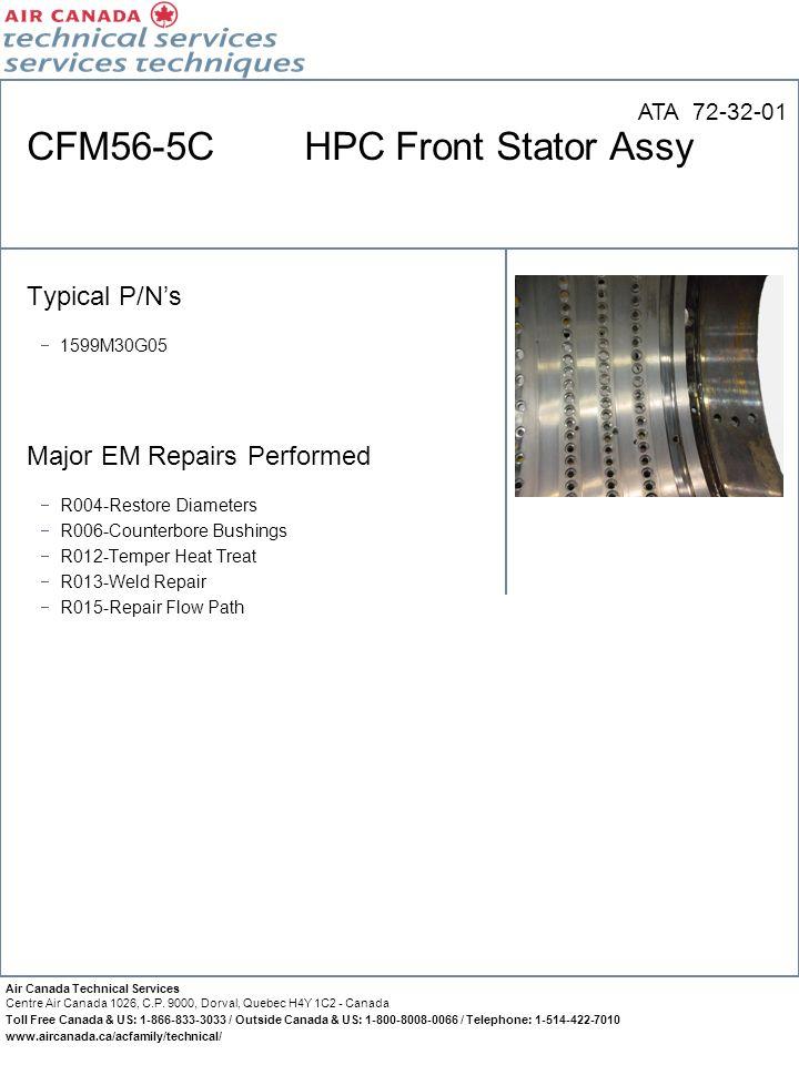 CFM56-5C HPC Front Stator Assy