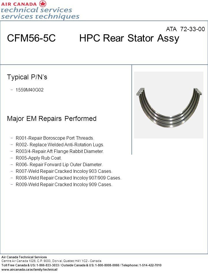 CFM56-5C HPC Rear Stator Assy
