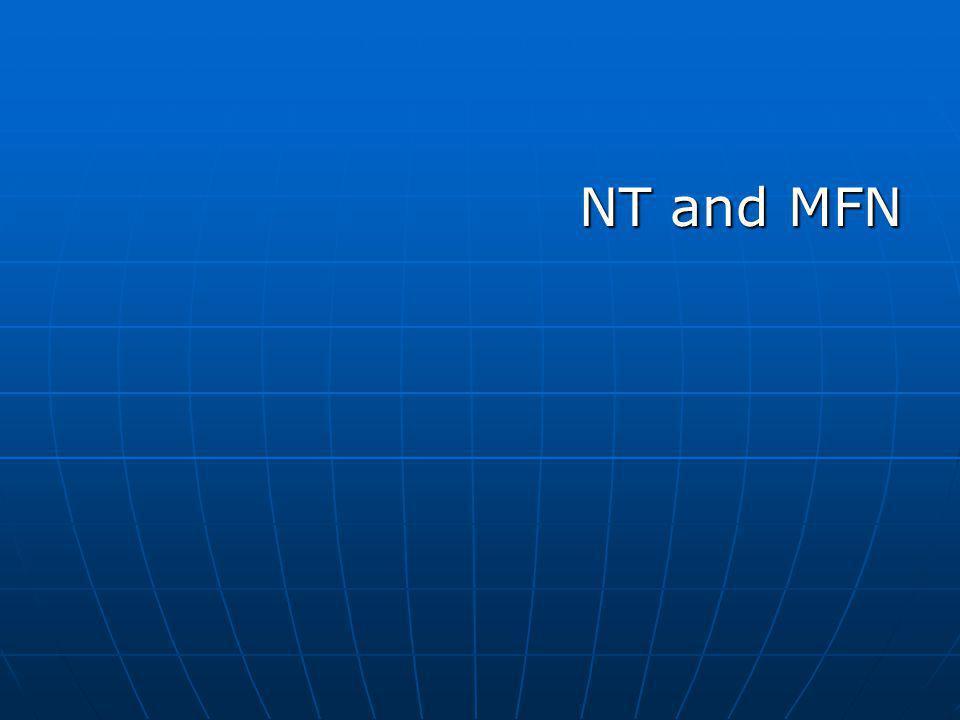 NT and MFN