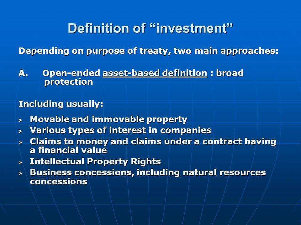 International Investment Agreements: Key Issues And Features - Ppt