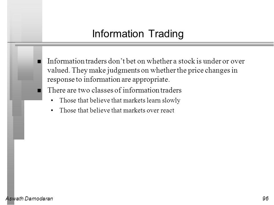 Information Trading