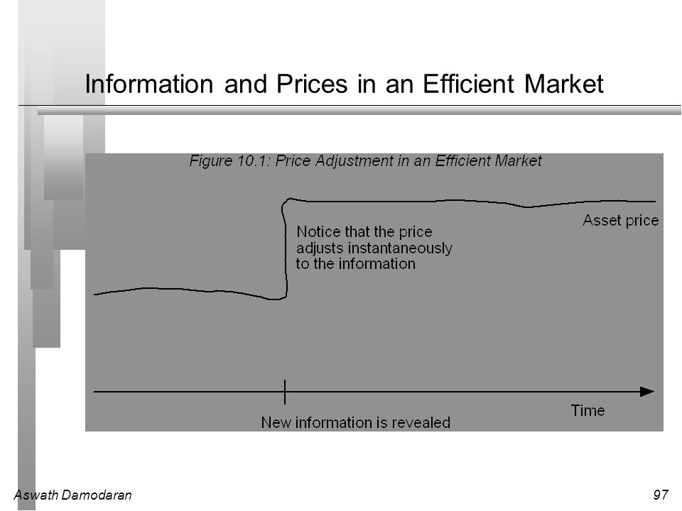 Information and Prices in an Efficient Market