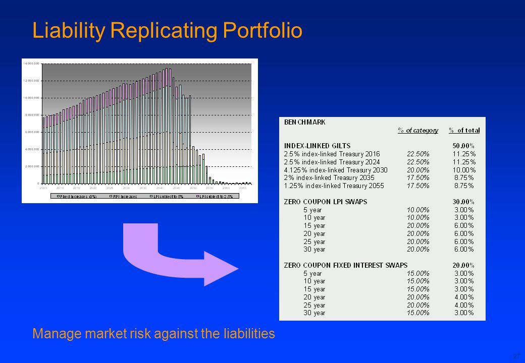 Liability Replicating Portfolio