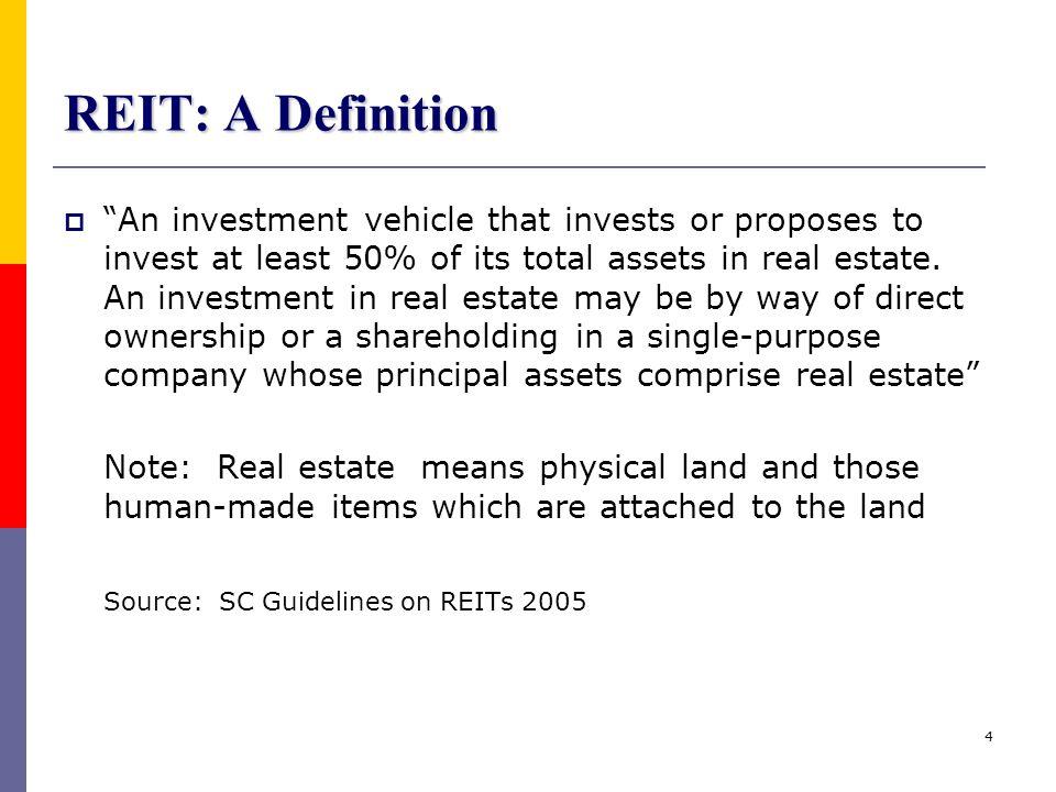 REIT: A Definition