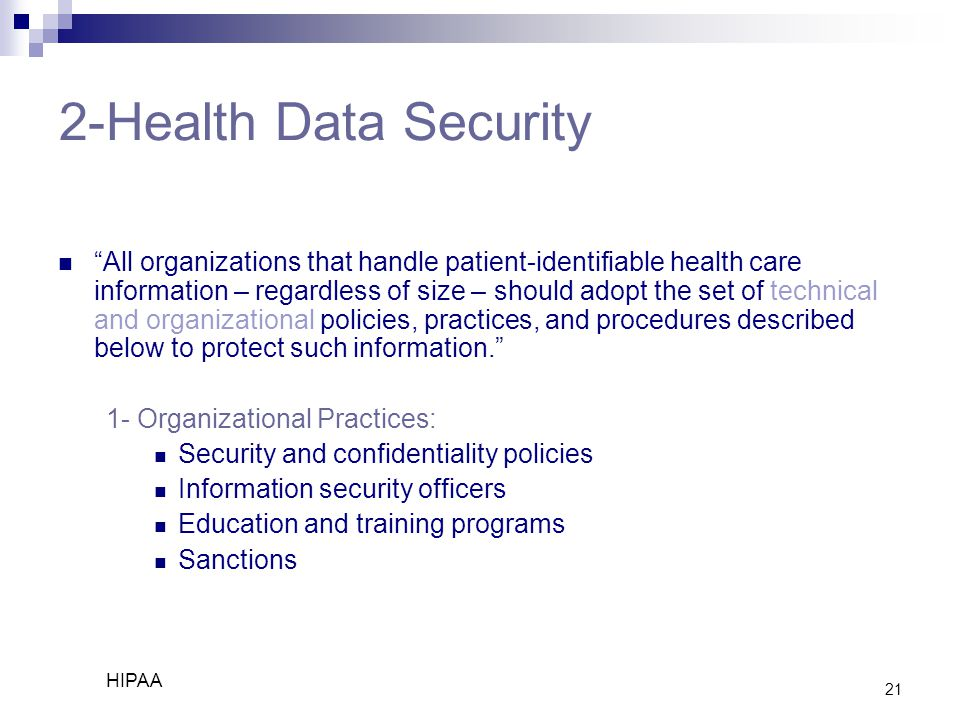 2-Health Data Security