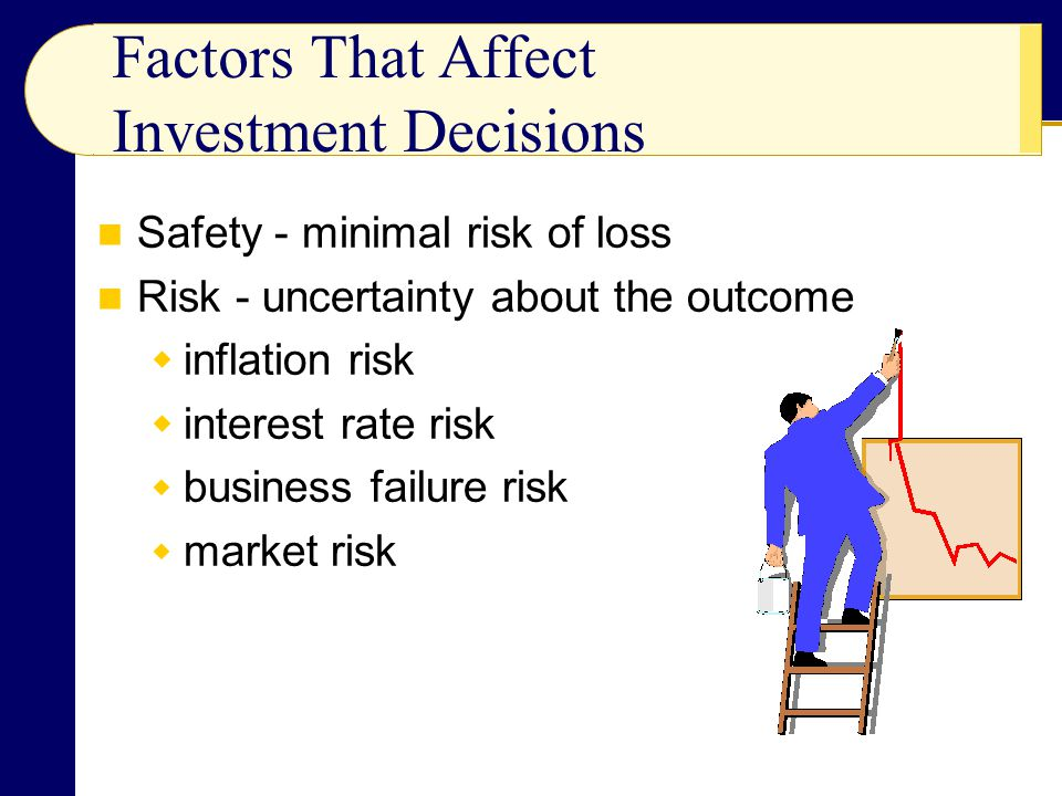 Factors That Affect Investment Decisions
