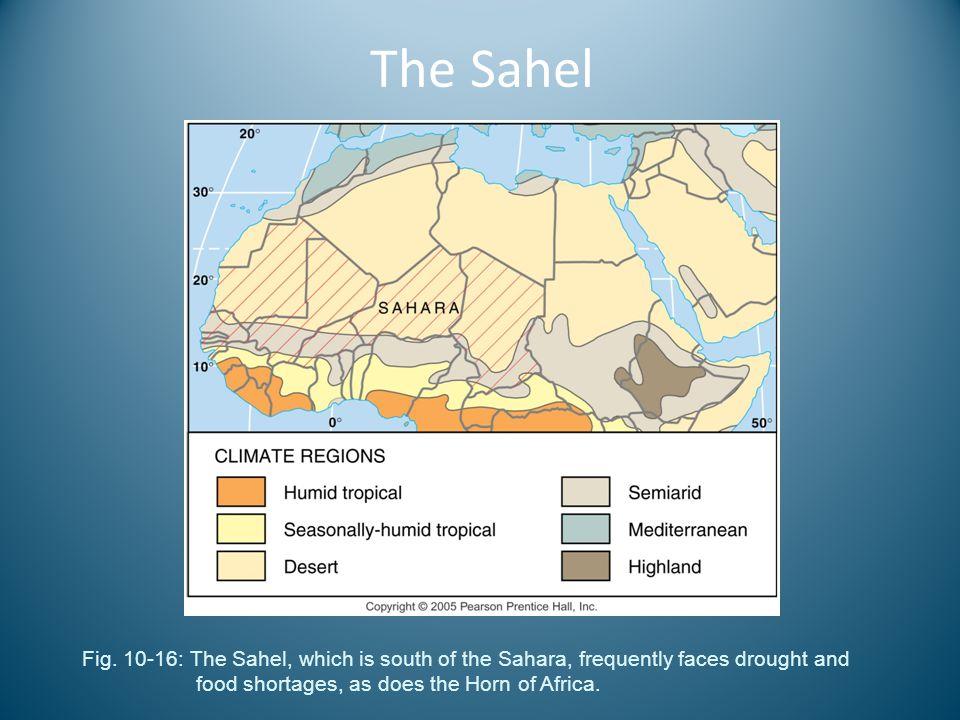 The Sahel Fig.