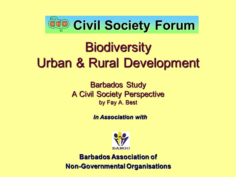 Barbados Association of Non-Governmental Organisations