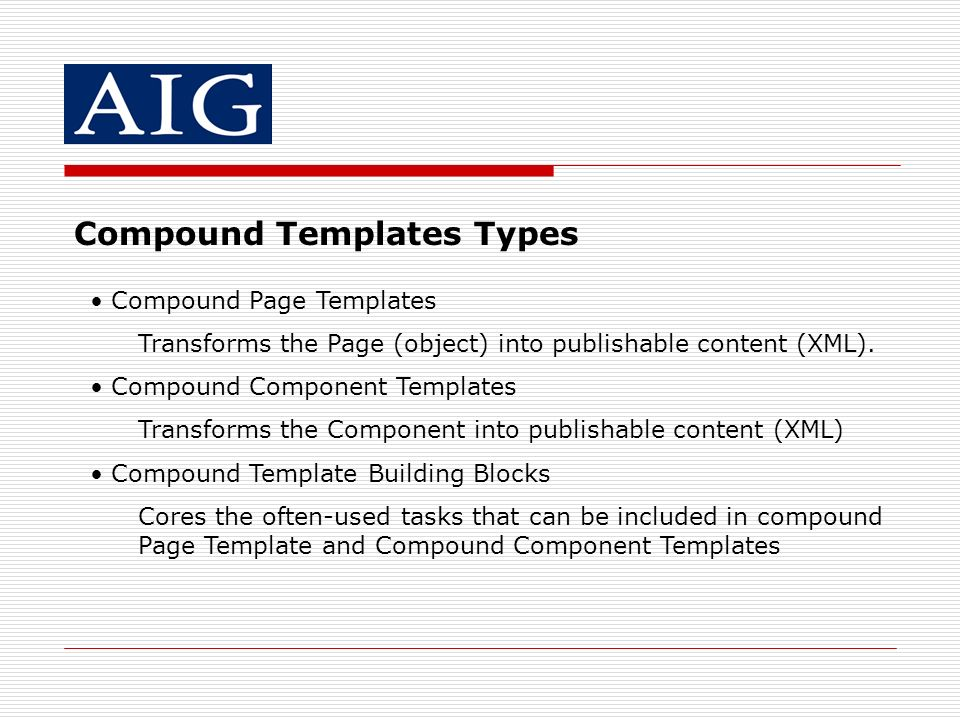Compound Templates Types