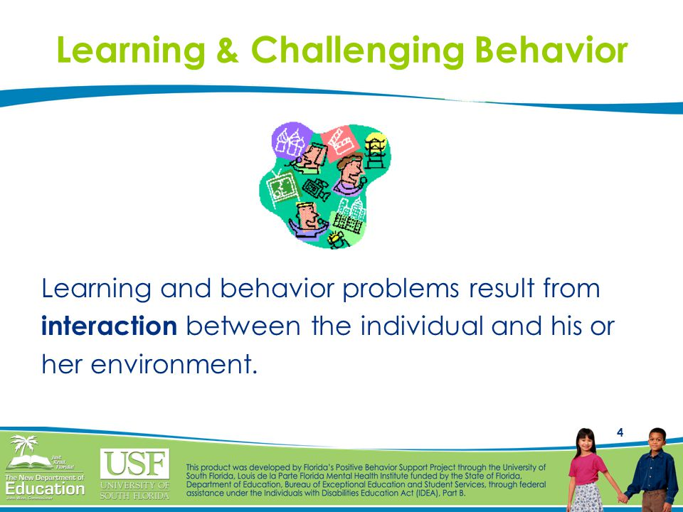 Learning & Challenging Behavior