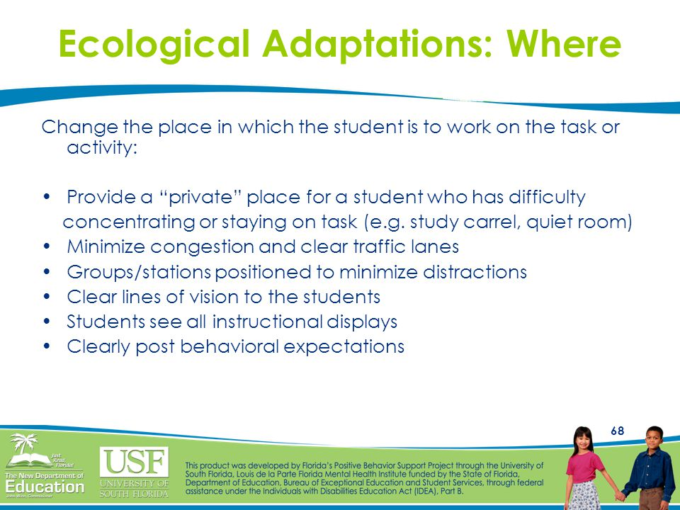 Ecological Adaptations: Where