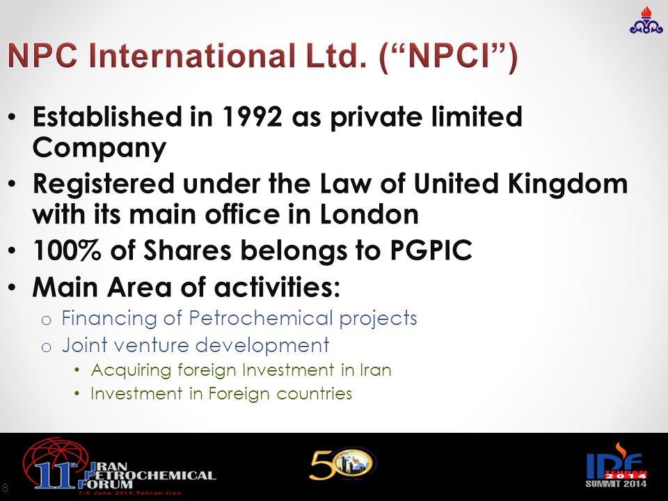 NPC International Ltd. ( NPCI )
