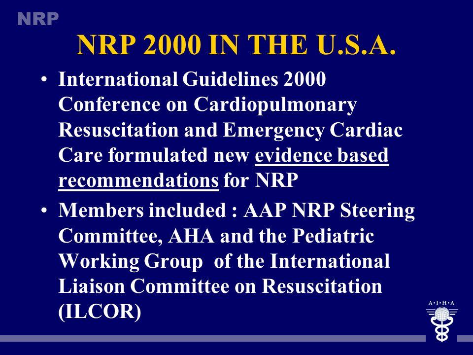 NRP 2000 IN THE U.S.A.
