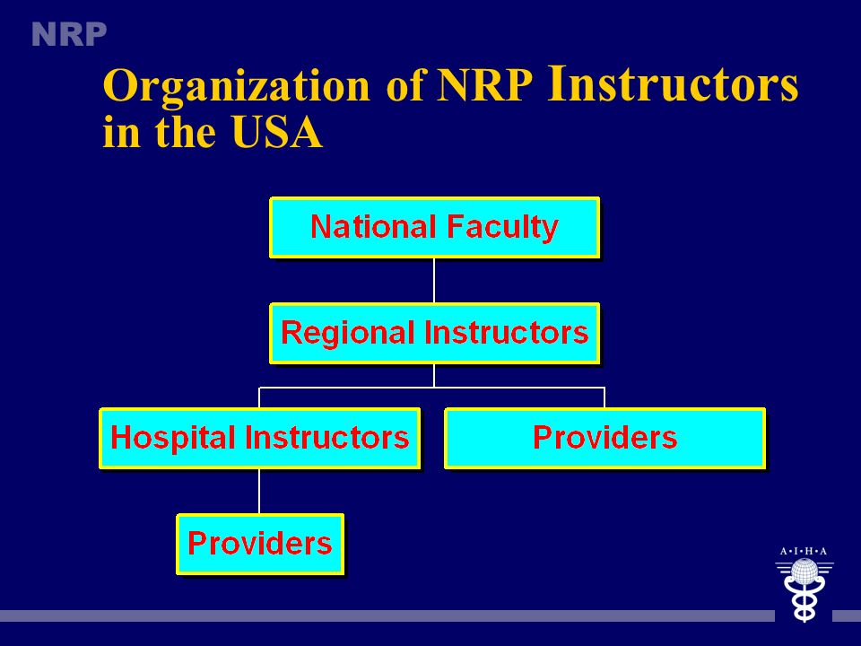Organization of NRP Instructors in the USA