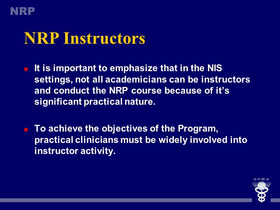NRP Instructors