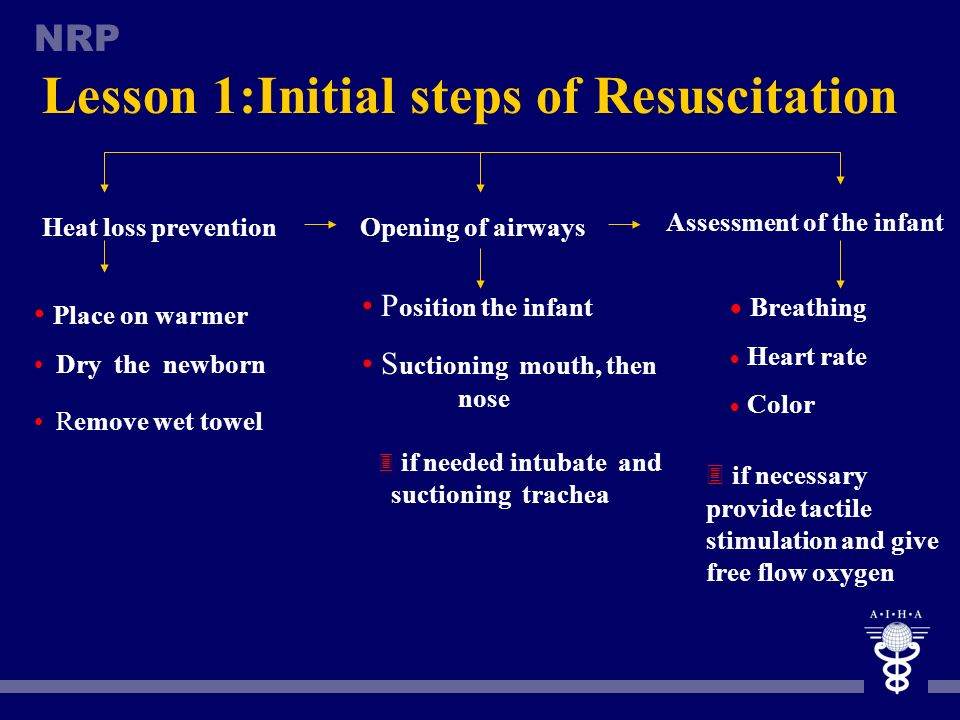 Lesson 1:Initial steps of Resuscitation