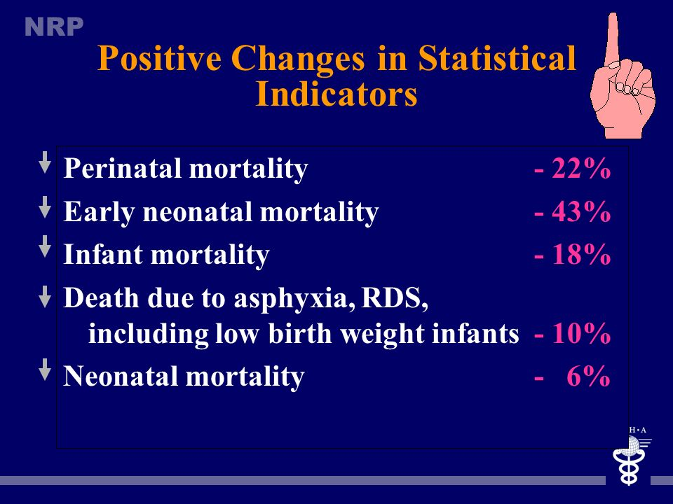 Positive Changes in Statistical Indicators