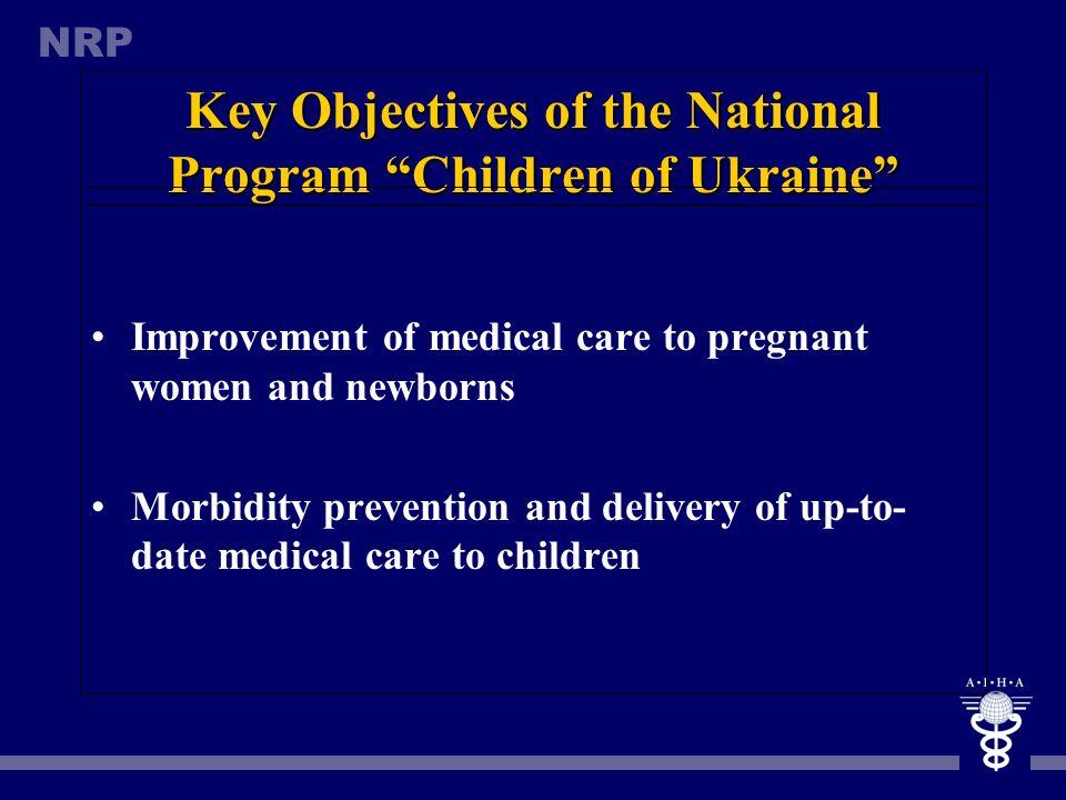 Key Objectives of the National Program Children of Ukraine
