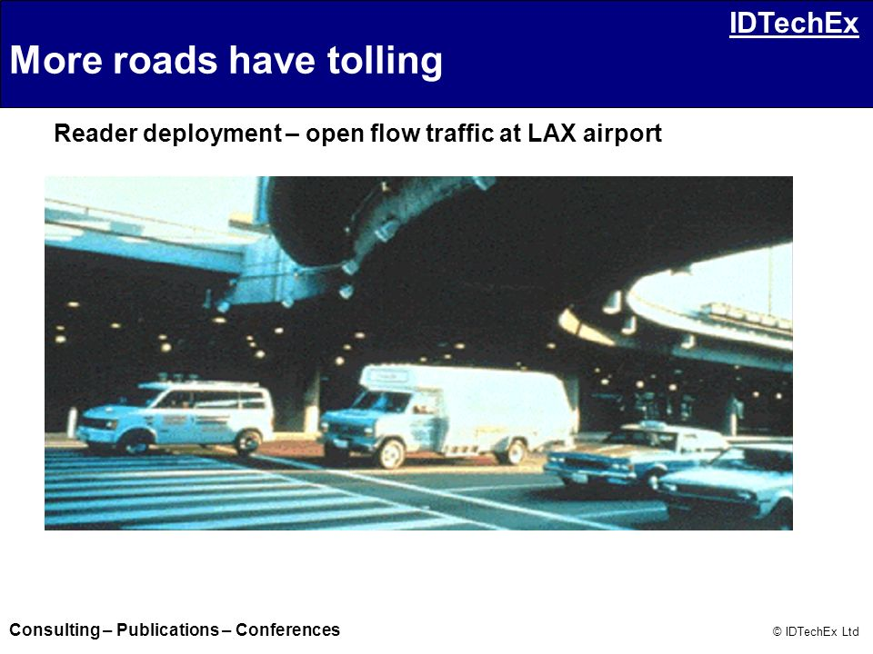 More roads have tolling