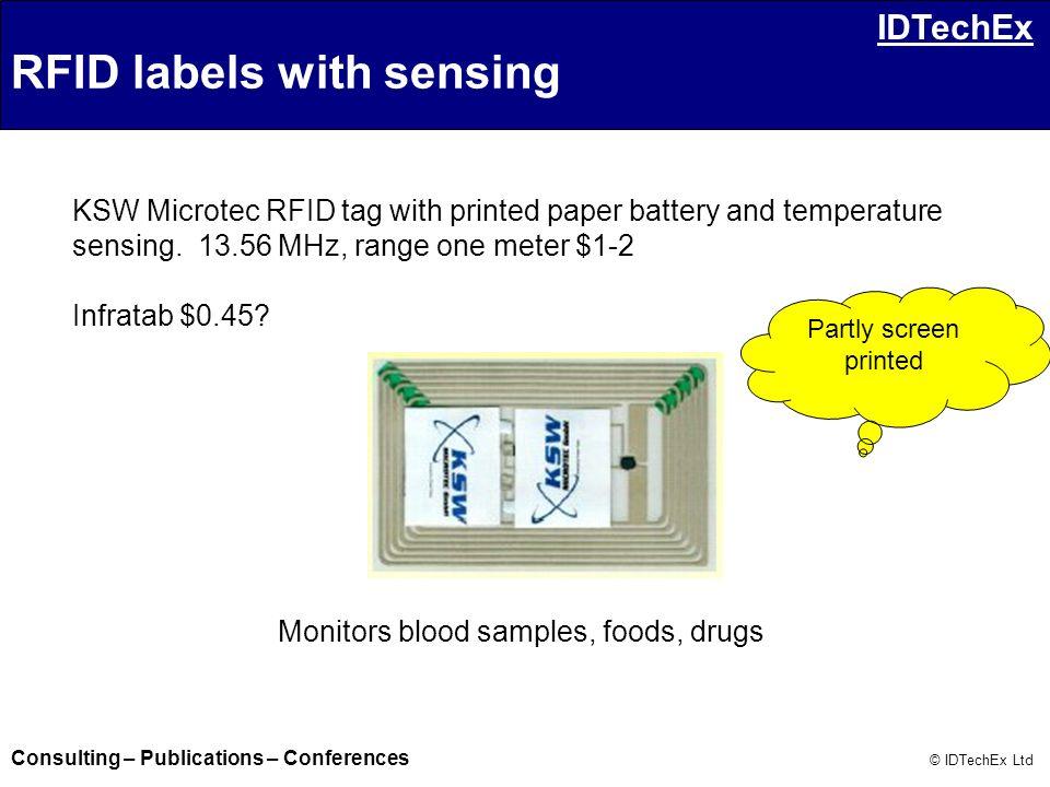 Monitors blood samples, foods, drugs