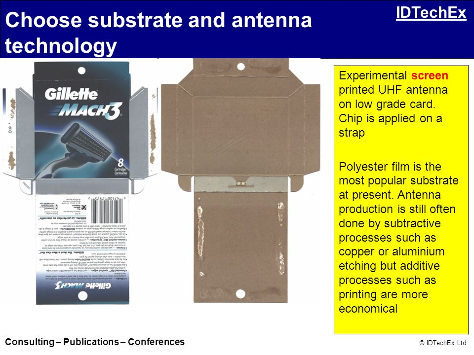 Choose substrate and antenna technology