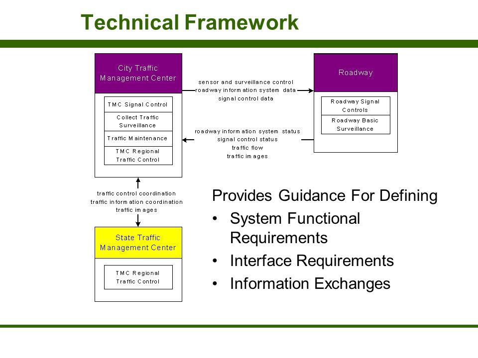 Technical Framework Provides Guidance For Defining