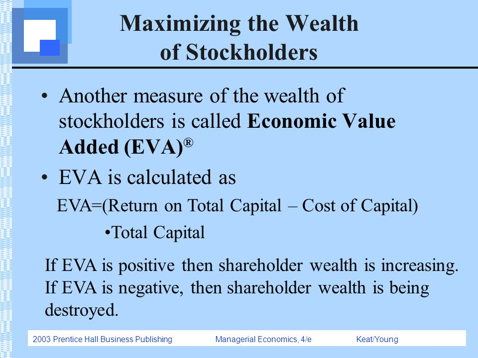 the goals of corporations in maximizing shareholder value The main goal of virtually every publicly-owned company has always been to maximize shareholder value by generating as much profit as possible however, many companies have begun to balance this .