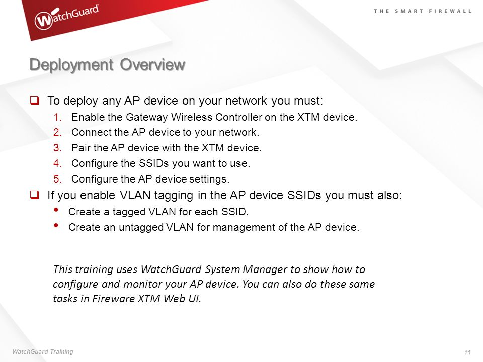 Deployment Overview To deploy any AP device on your network you must: