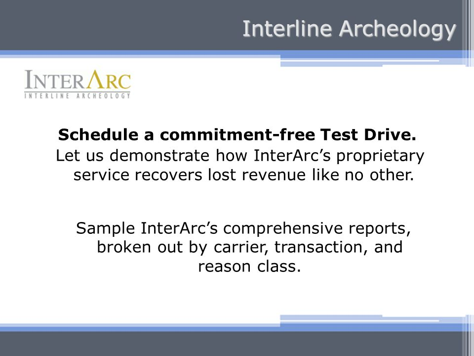 Schedule a commitment-free Test Drive.