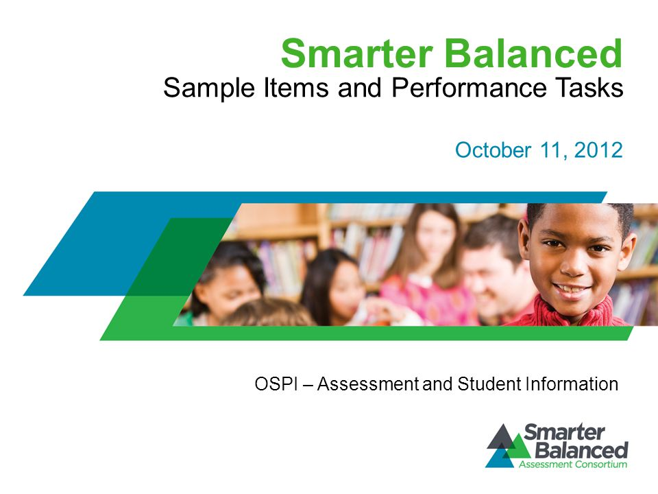 Sample Items and Performance Tasks