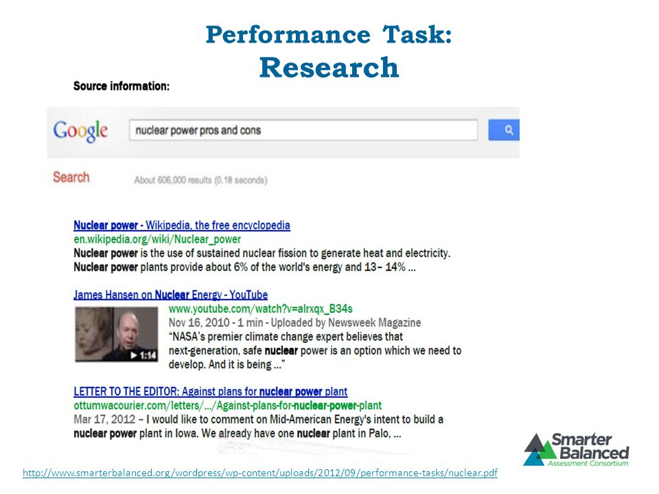 Performance Task: Research