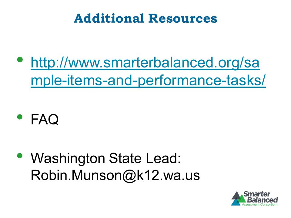 http://www.smarterbalanced.org/sa mple-items-and-performance-tasks/
