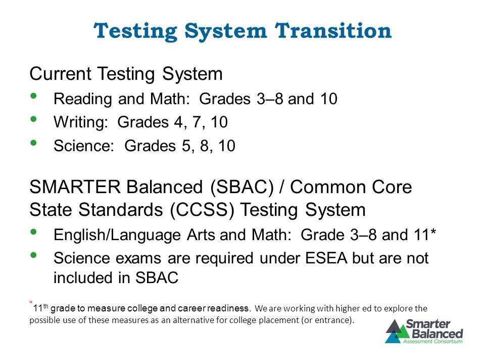 Testing System Transition