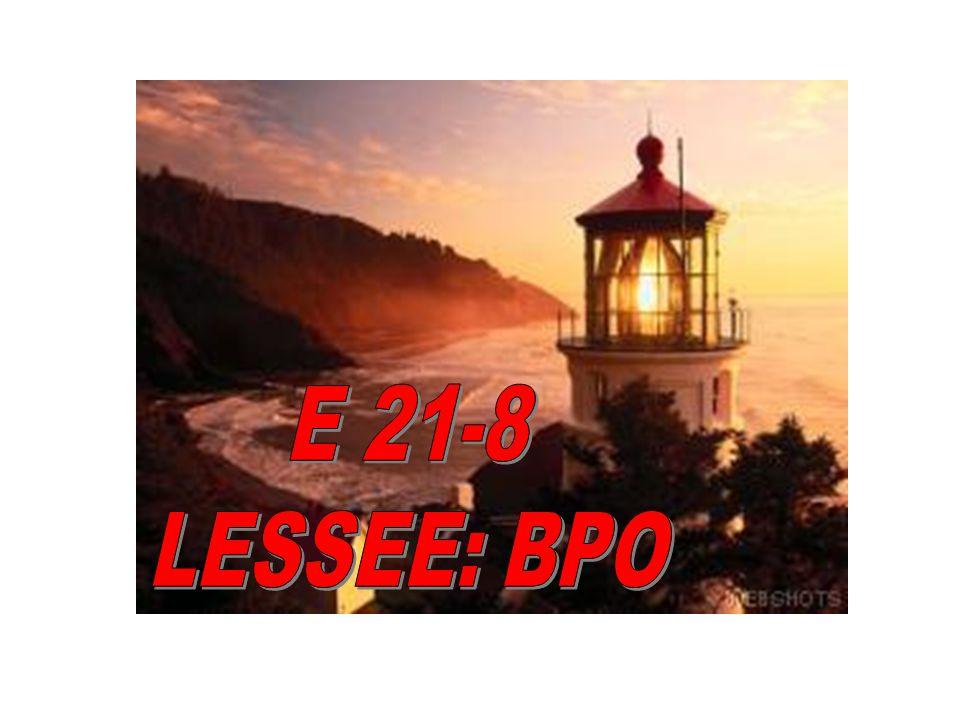 E 21-8 LESSEE: BPO