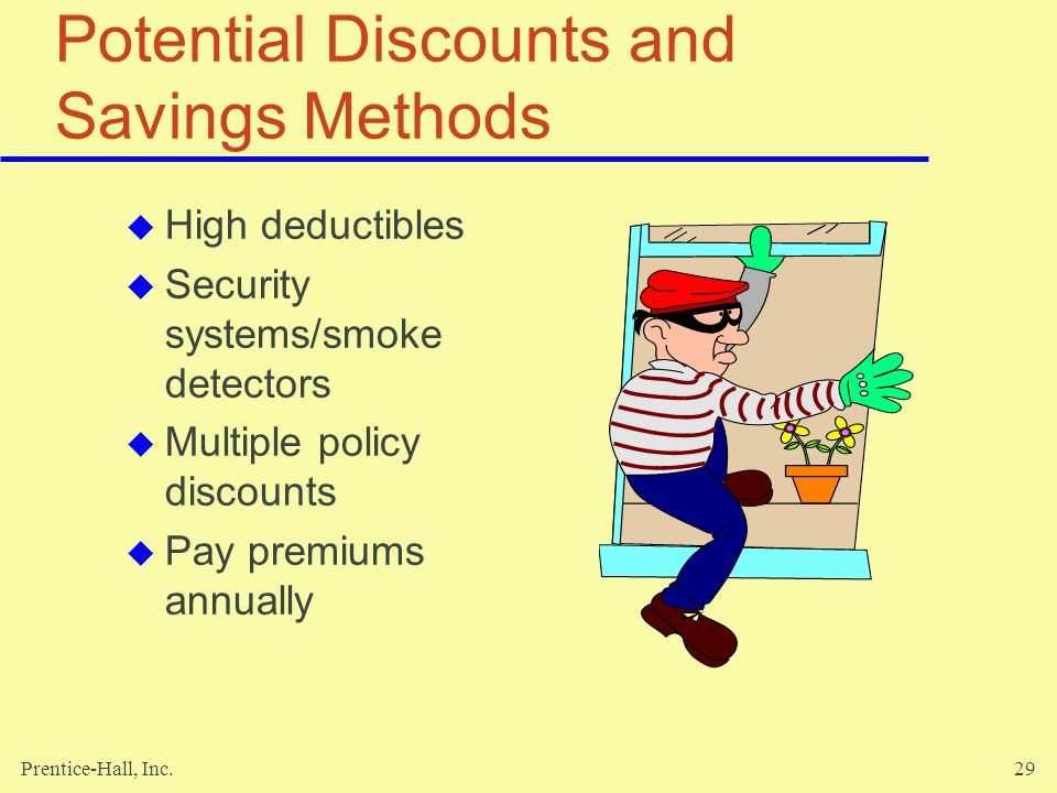 Potential Discounts and Savings Methods