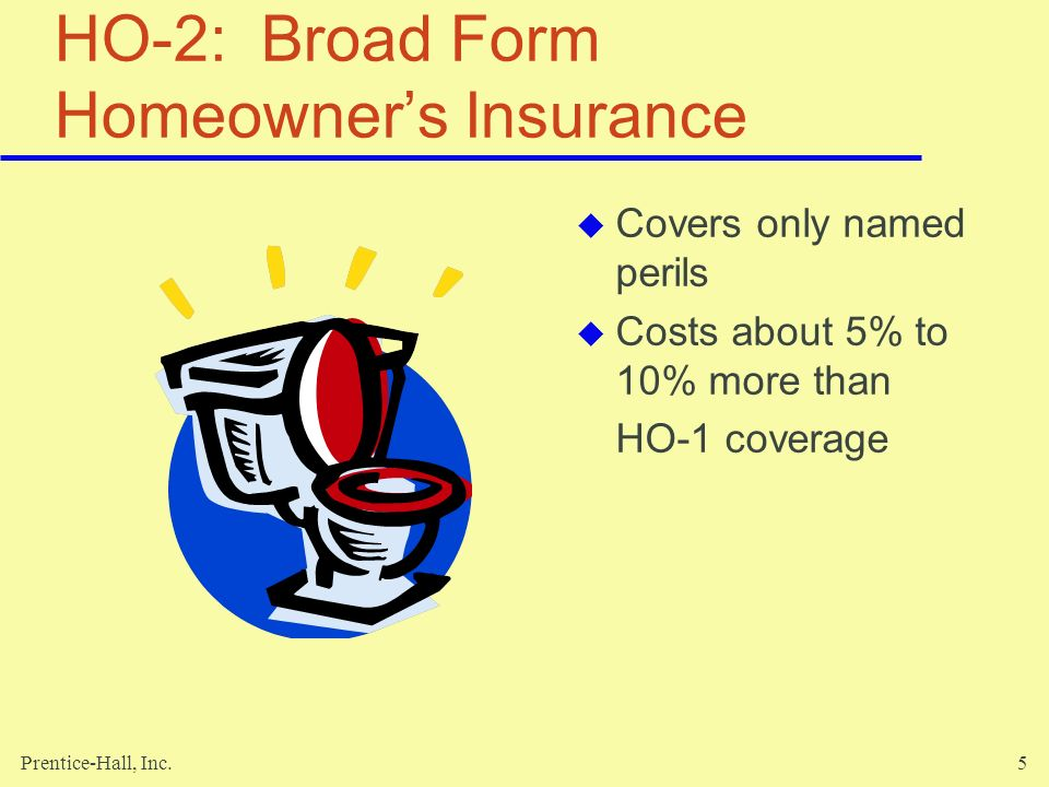 HO-2: Broad Form Homeowner's Insurance