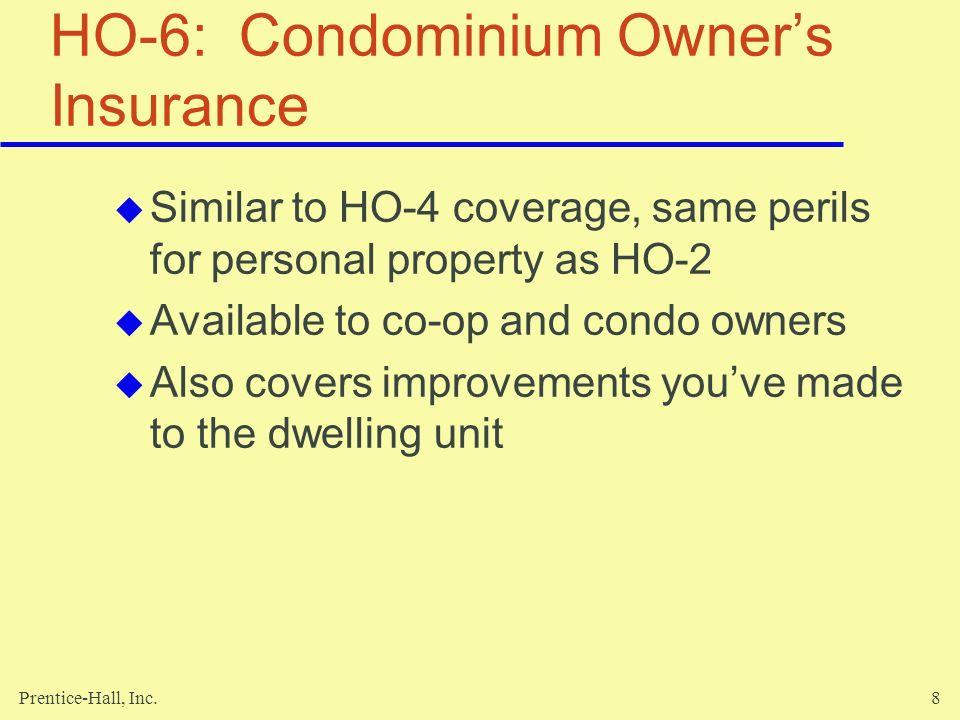 HO-6: Condominium Owner's Insurance
