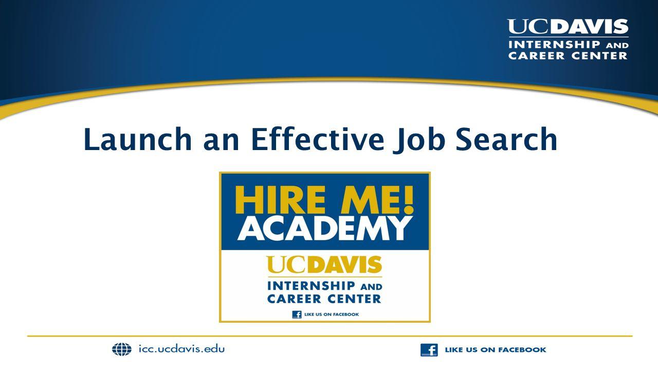 Launch an Effective Job Search